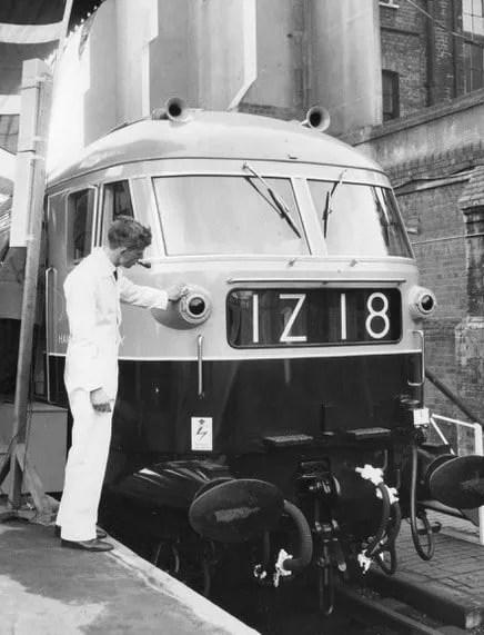 Kestrel locomotive press run at London Marylebone Station