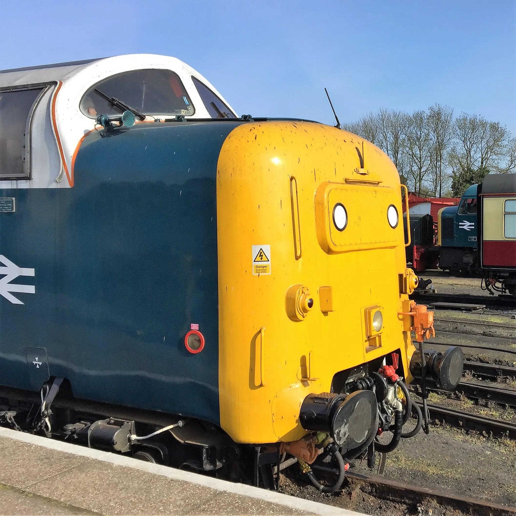 Deltic locomotive