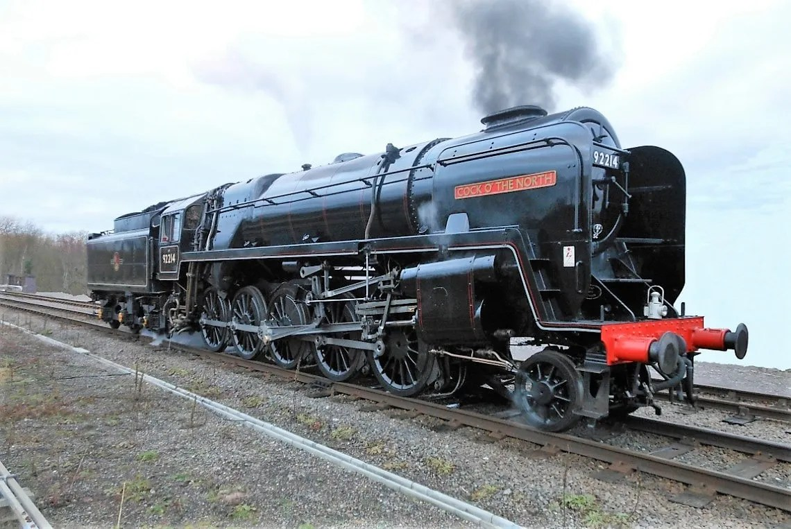 Cock o The North 92214 (F steam locomotive - railway memories