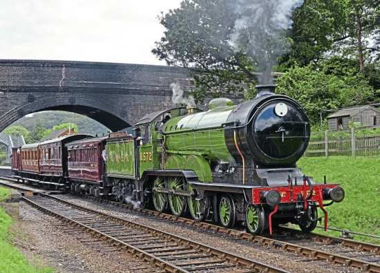 'B12' No. 8572 is back after a prolonged absence. On July 3 it leaves Weybourne with the vintage train. COLIN SMITH