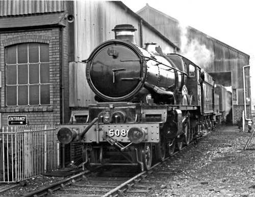 Defiant in steam at Tyseley on November 27, 1992. It will return to the works this winter as the first step of its long-awaited return to working order. ROBIN STEWART-SMITH