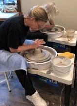 Pottery Classes, Wheel Throwing