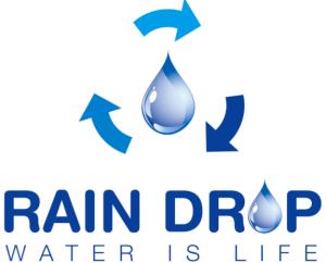 Logo Rain Drop Organization