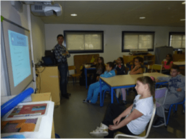 Intervention Ecole
