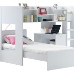 Wizard L Shaped Bunk Bed Rainbow Wood