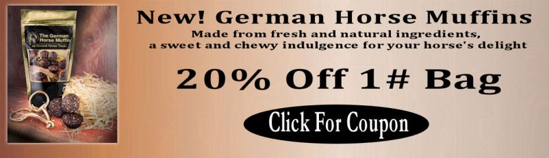 The German Horse Muffin 20% Off