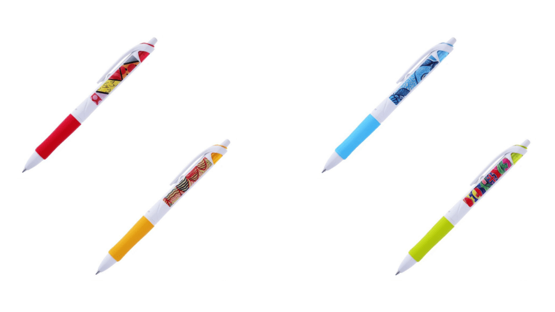 Our apprentices' artworks were featured on limited edition Pilot Pen sets as part of their Colour Our World campaign.