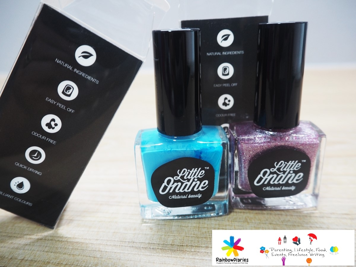 Little Ondine - Why I prefer these happy nail colors for my Little ...