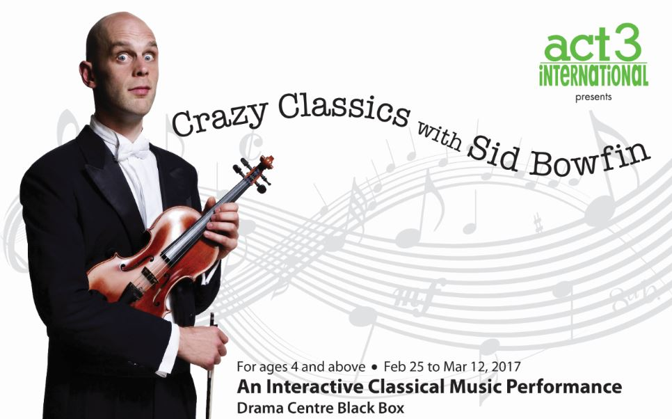 Giveaway – Crazy Classics with Sid Bowfin