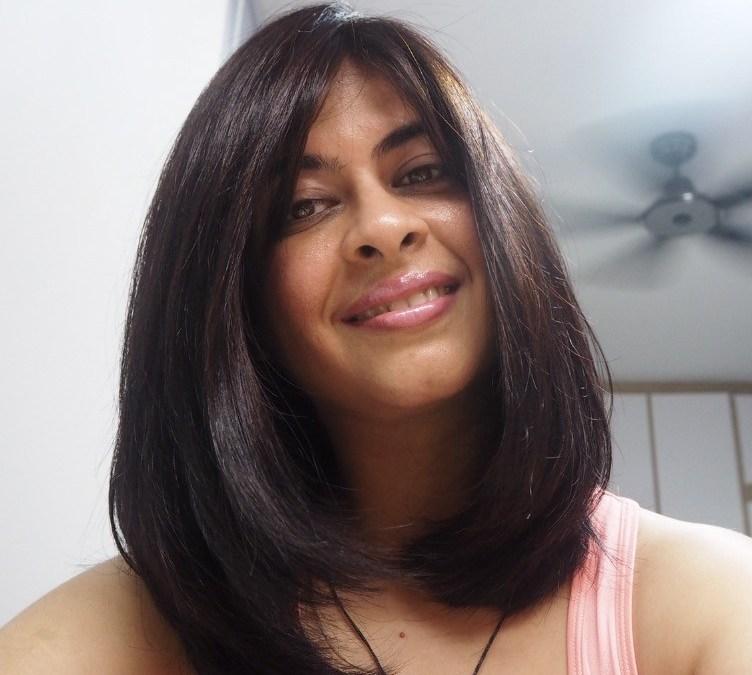 Hair makeover by Kenjo Salon