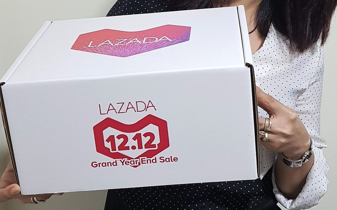 Shop with your heart: My 3-mins Makeup Hack with Lazada 12.12 Surprise Box