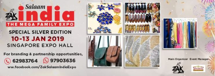 Zak Salaam India Expo's 25th Edition New Year and Pongal Special 10-13 Jan