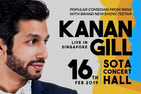Kanan Gill Feb 16th at Sota Concert Hall