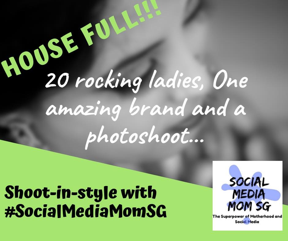 Shoot in Style with #SocialMediaMomSG