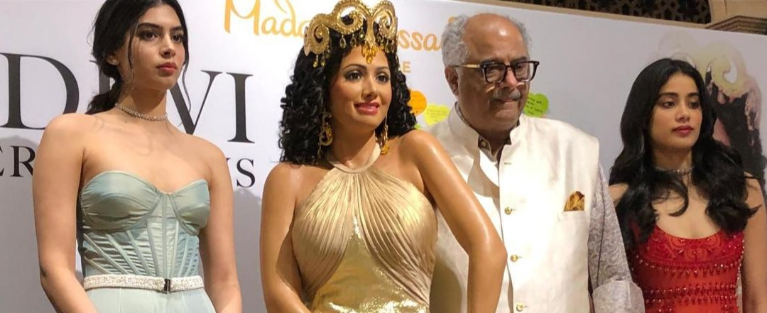 Unveiling of Bollywood Legend, Sridevi's wax figure at Madame Tussauds Singapore