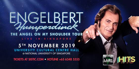 Master Balladeer and Romantic Crooner, Engelbert Humperdinck, returns to Singapore with his Newest tour!