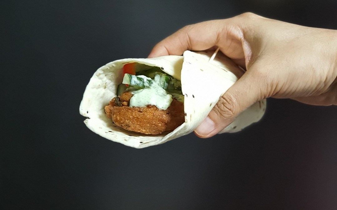 Easy Recipe: Falafel Wraps