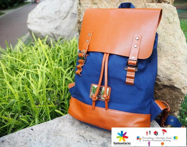 Gaston Luga backpack, RainbowDiaries.com