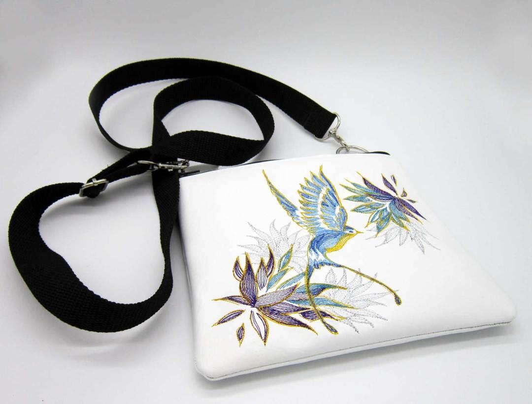 Elegant Swallow Bag Flat