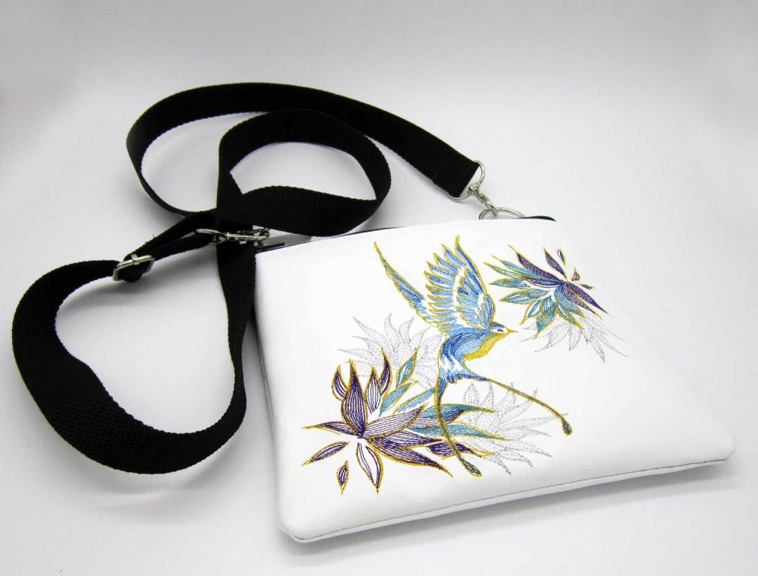 Elegant Swallow Bag Flat