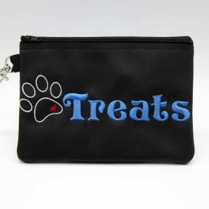 Heart Paw Treat Zipper Bag