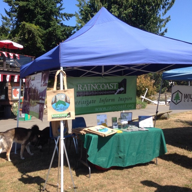Raincoast at the People's Paddle event