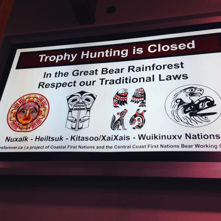 Trophy hunting is closed