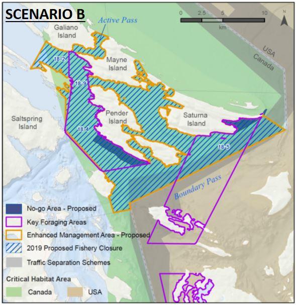 Gulf Islands Scenario B 2019