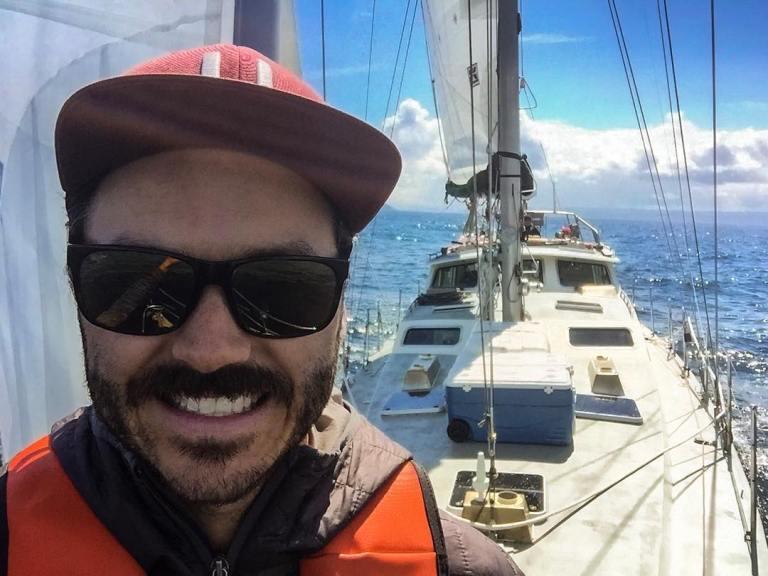 Sailing at Cape Caution