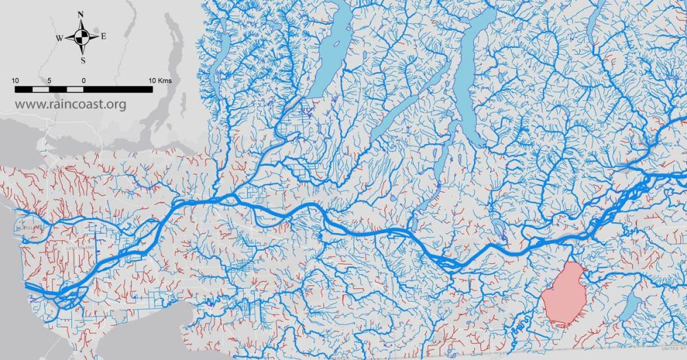 Searching for the Lower Fraser's lost streams