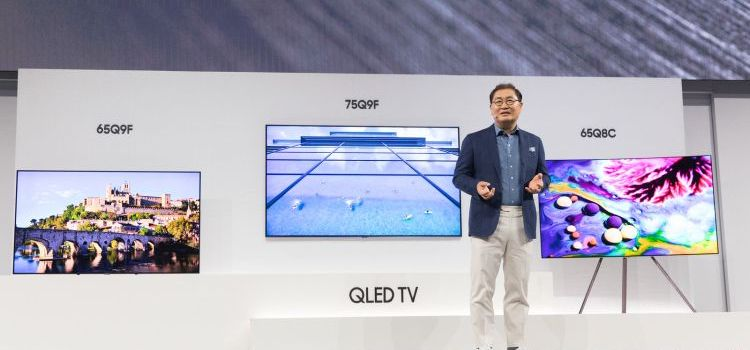 Samsung Electronics Unveils 2018 Home Entertainment Line in New York