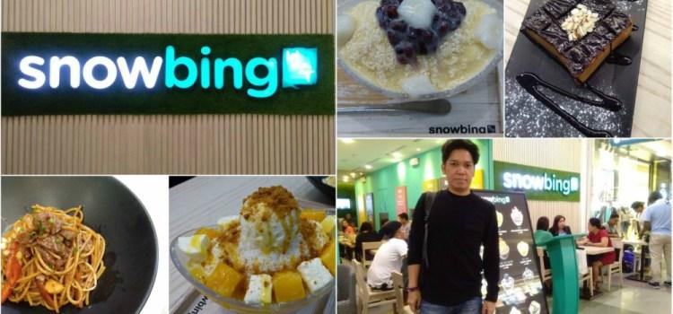SNOWBING SM North EDSA | Korean Shaved Ice Desserts, Toasts, Pasta and More
