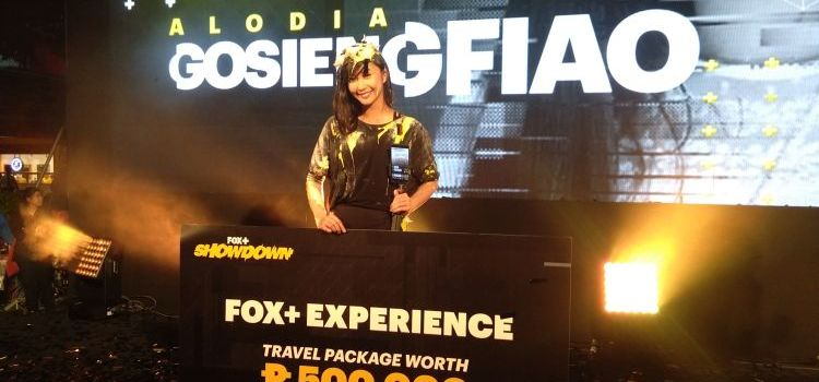 Cosplayer Alodia Wins First-Ever FOX+ Showdown and 500K Worth of Travel Experience