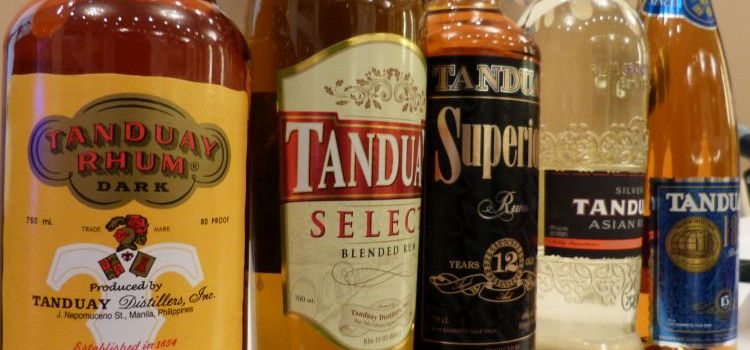 Tanduay Gets Lead Over Bacardi as World's Top Selling Rum