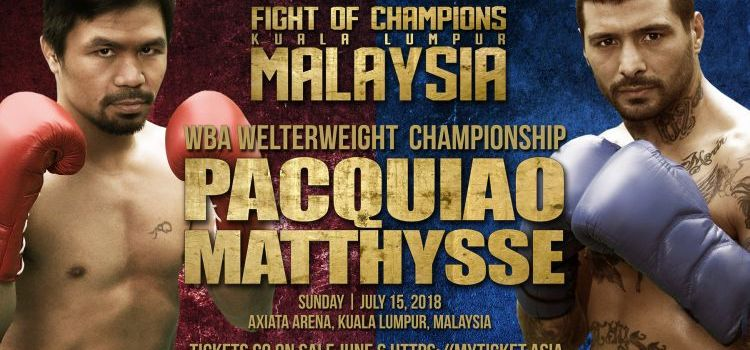 Can Pacquiao Unify His People Once Again in Fight of Champions