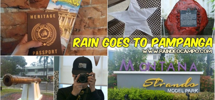 RAIN GOES TO PAMPANGA | 5 Cool Places to Visit in Pampanga
