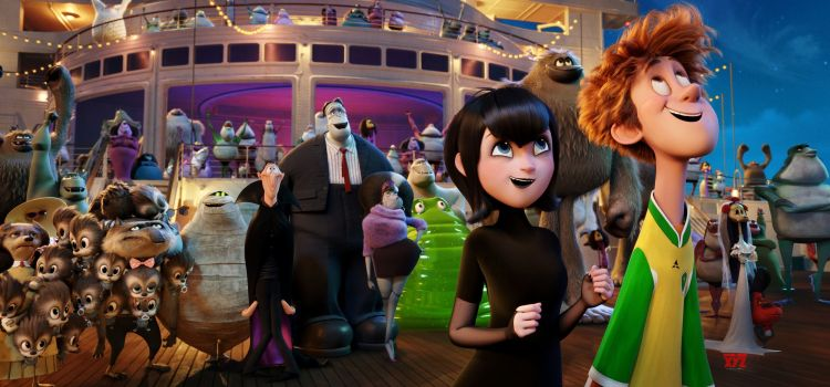 HOTEL TRANSYLVANIA 3 Takes Kids on a Cruise with Monsters #5SecReview