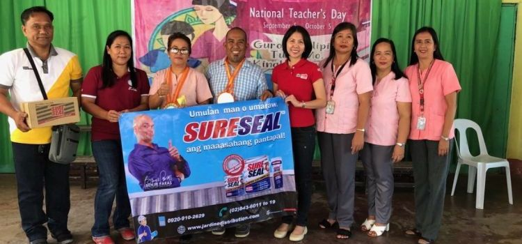 JDI Donates Sureseal Sealants to Typhoon Ompong-Hit Schools in Northern Luzon