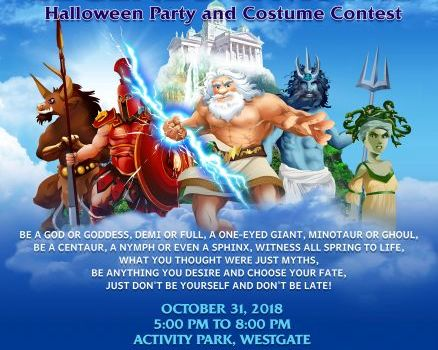 Get Your Greek On This Halloween at Westgate Center Alabang