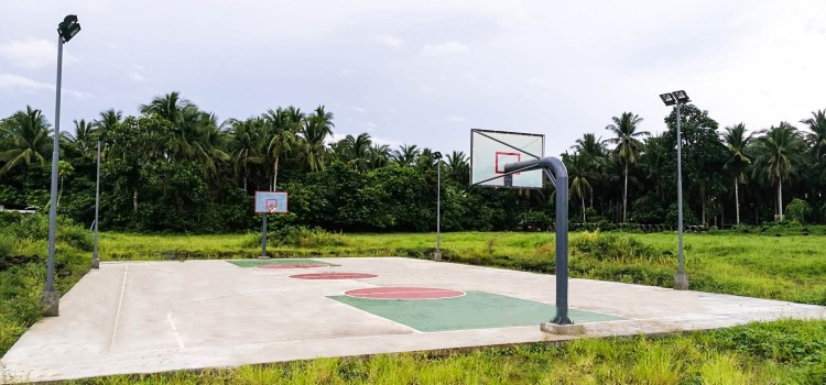 Amaia Scapes San Pablo Opens Newly Completed Basketball Court