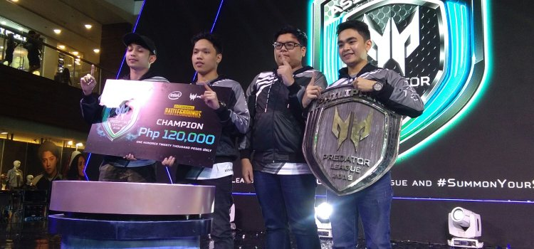 Predator Awards Best PUBG Team in the Philippines, Launches Hi-Tech Thronos Gaming Chair
