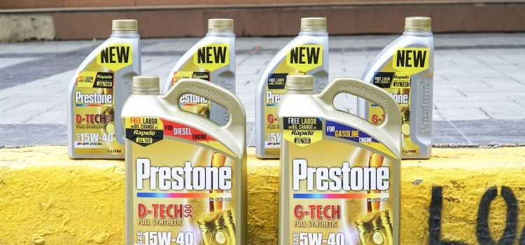 No Labor Cost For Prestone Oil Change at Select Rapide Outlets