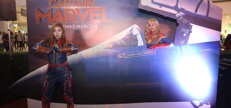 SM Cinema Captain Marvel Interactive Exhibit – Extended in Manila!