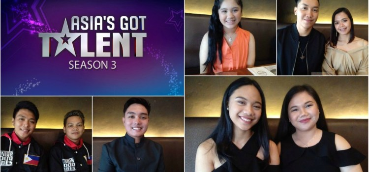 Asia's Got Talent Season 3 Top 5 Pinoy Acts