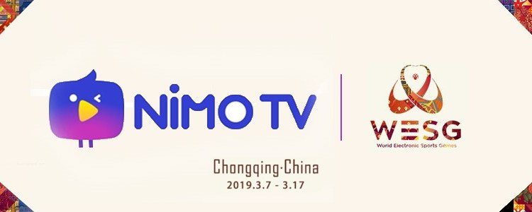 Nimo TV App To Broadcast World e-Sports Games 2019