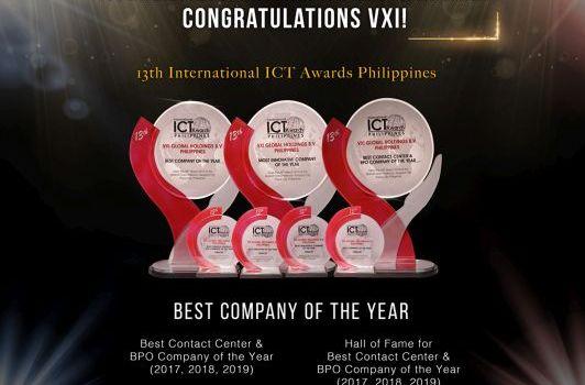 VXI Philippines Wins BPO Company of the Year Award