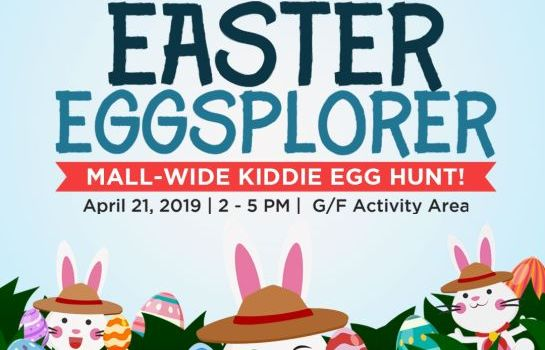 How To Become Easter Eggsplorers at Commercenter Alabang