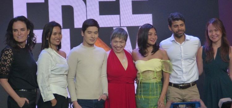 HOOQ FREE and HOOQ FREEPLAY Launch with Movie Stars Nadine Lustre and Christian Bables