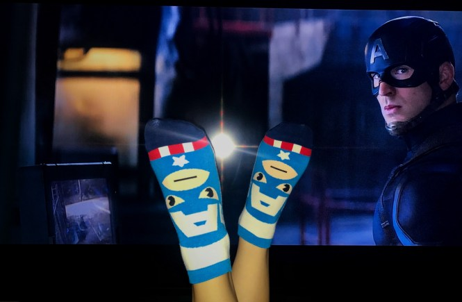 Feeling Super with Awesome Socks | Raine In The City