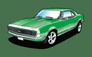 1967 Chevrolet Camaro & Pontiac Firebird   RainGear Wiper Systems